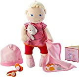 HABA Baby-Doll Jule | soft doll, toys for 1 year old | 303724