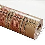 Papier Peint à Carreaux Style écossais Art Vintage Non Tissé Chambre à Coucher Salon Mur,darkred,0.53m*10m