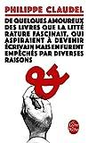 Telecharger Livres De quelques amoureux des livres (PDF,EPUB,MOBI) gratuits en Francaise