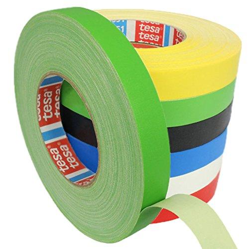 tesa-4651-premium-gewebeband-verschiedene-breiten-und-farben-wahlbar-grun-12-mm-x-50-m