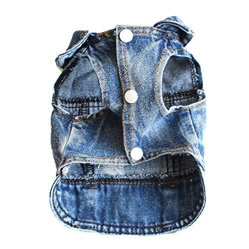 Ysoom Hundebekleidung Cowboy Hundebekleidung Jeans Weste Waren