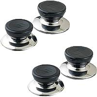 Lot de 4 boutons de rechange faciles à installer pour couvercle de casserole, couvercle de casserole, couvercle de…