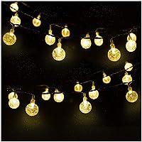 Mr.Twinklelight 30 LED 4.5M Waterproof Festival Lights LED Solar Lights Celebrate Wedding/Birthday/Christmas Party Warm White Solar String Lights