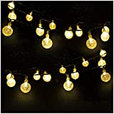 Guirnalda luces exterior solar, Mr.Twinklelight luces solares 4.5M 30 LED, Luces de navidad para...