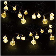 LED Solar Lichterkette...