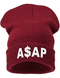 Beanie Hats - Bonnet -  Homme Noir beliber dark red