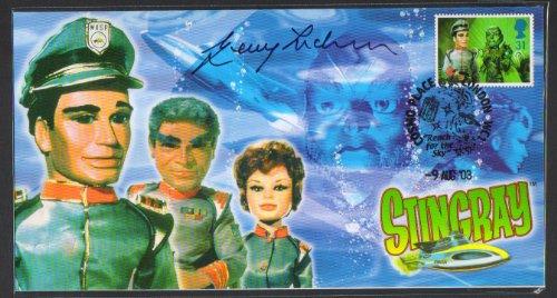 Stingray Offizielle Gerry Anderson handsignierten GEDENKMÜNZE Cover