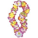"""40""""Rainbow flores de tela guirnalda de flores hawaianas LEI"""