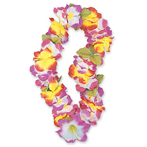 Blumenkette, Hawaii, Stoff, 101,6cm, (Kostüme Tropischen Motto Party)