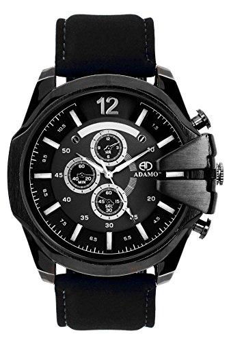 51wGXWh0K%2BL - ADAMO Biker Mens AD26SL02 watch