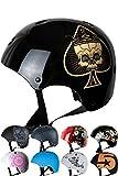 Skullcap Casco BMX - Casco Skate - Casco Bici, Taglia S (53 - 55 cm) Casco per...