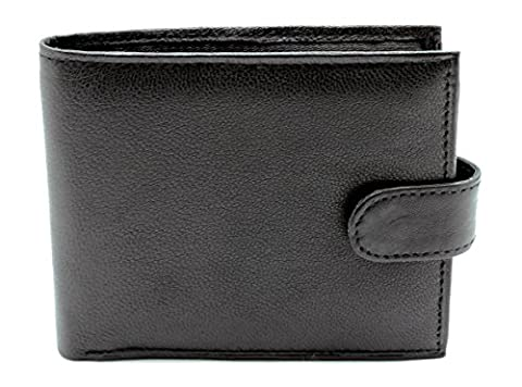 RAS® Men's Quality Soft Leather Wallet With Multiple Card Slots