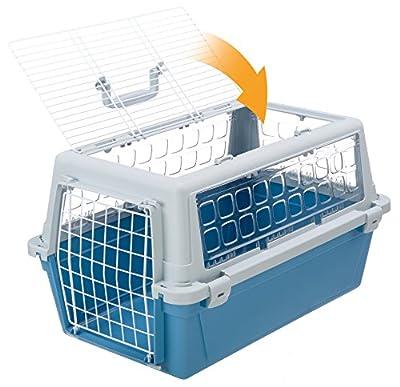 Ferplast Atlas 20Open Transport Bag for Dog/Cat Basket 2-Tone Trendy Blue/Grey by Ferplast