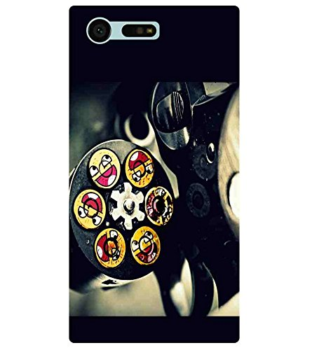 For Sony Xperia X Compact gun bullet ( ) Printed Designer Back Case Cover  available at amazon for Rs.440