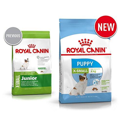 Royal Canin Hundefutter X-Small Junior, 1,5 kg, 1er Pack (1 x 1.5 kg) - 3