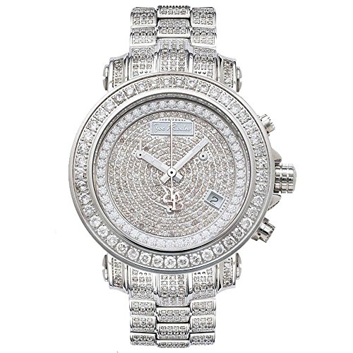 Joe Rodeo Diamant Homme Montre - RIO argent 8 ctw