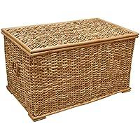 CUPWENH Plastic Rattan Storage Basket Basket Basket Suitable For Small Household Bathroom Bathroom Bedside Table,Beige 3 Piece Set