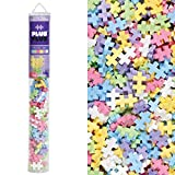 Plus-Plus 52229 - Bausteine Mini Pastell Mix, 100 Stück