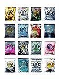 einhorn Kondome - 7 Stück - Wochenration - Design Edition: UUUH! PENISGEGENSTÄNDE - Vegan, Hormonfrei, Feucht, Geprüft -