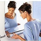 huichang Spiegelfolie für Fenster Selbstklebende Zuschneidbar Silber Fenster Spiegel - Räume schnell viel heller und großzügiger (50 x 100 cm)