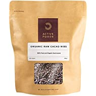 Organic Raw and Natural Cacao Nibs, 250 g