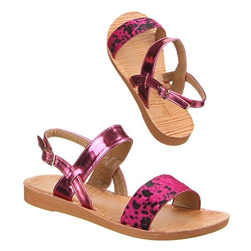 Chaussures, jK - 12, sandales Rose - Rose