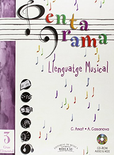 Pentagrama Llenguatge Musical: Pentagrama III Llenguatge Musical Elemental: 3 (Pentagrama Llenguatge Musical 3)