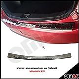 Mitsubi ASX 2010> Chrom Ladentenschutz aus Edelstahl