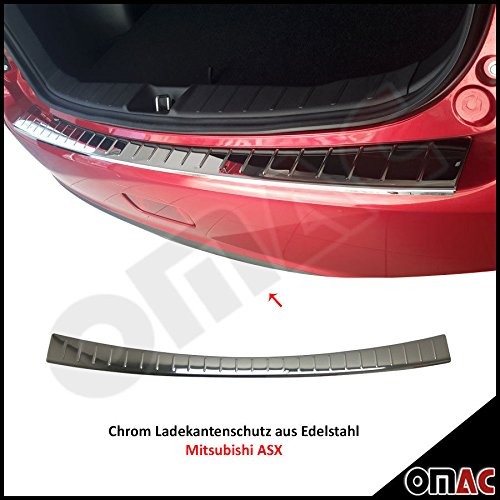 mitsubishi-asx-2010-chrome-ladekant-protection-en-acier-inoxydable