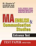 GGSIPU: MA, English & Communication Studies Entrance Exam Guide (Popular Master Guide)