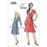 Vogue V8379 VGE BB(8-14) Schnittmuster zum Nähen, Elegant, Extravagant, Modisch