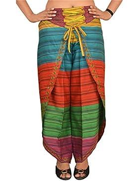 SNS puro cotone Aladdin Harem Pantaloni Dhoti