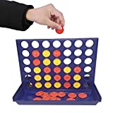 SKE Connect Four Kids Adults Family Fun Game Brain Teaser Toy Great Educational Toy for Kids Children