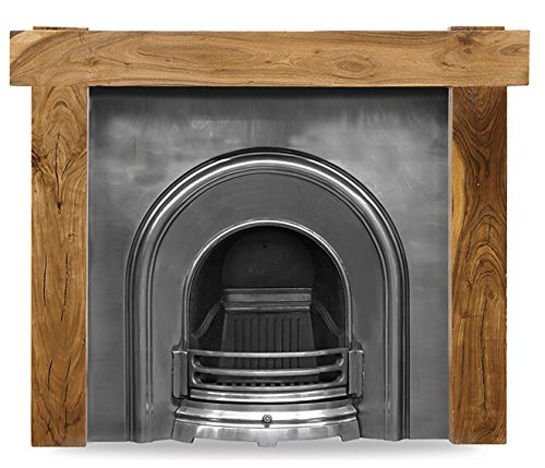 Carron Celtic Arch Cast Iron Insert – Half Polish
