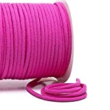 Baumwollkordel 6 mm, pink, 2m, 100% Baumwolle, Fb.035