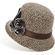 MEICHEN-Ladies outdoor Hat fashion Cappelli Cappello invernale bow benna Hat (Patterns Knit Bambini Cappelli)
