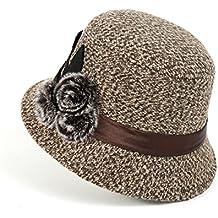 MEICHEN-Ladies outdoor Hat fashion Cappelli Cappello invernale bow benna Hat Joker,kaki