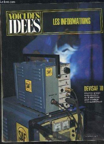 L INFORMATION N° 1231 DECEMBRE 1968. SOMMAIRE: LES ULTRA SONS DANS L INDUSTRIE, EQUIPEMENT DE BUREAU, CHIMIE, PLASTIQUES...