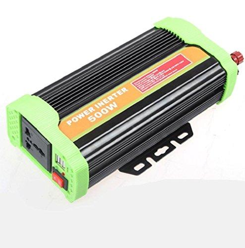 Solar Inverter Wechselrichter Car Power Inverter Hohe Qualität 500W 24V Turn 220V Fahrzeug Inverter Externe Sicherung (Starter-pumpe Jump)