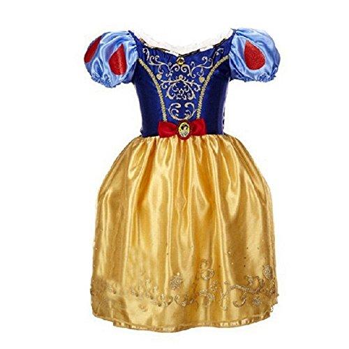 Ana Banana Paris : Robes de Princesse,Blanche Neige,5 ans=Taille de l'étiquette 120