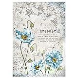 Stamperia Papel de Arroz Dreamer, 21 X 29.7 Cm, Multicolor,