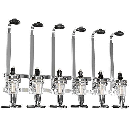 TecTake Getränkeportionierer Bar Butler - diverse Modelle - (6-fach | Wand | Nr. 401627)