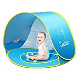 Ceekii Pop up baby beach tent Portable Shade Pool UV Protection Sun Shelter