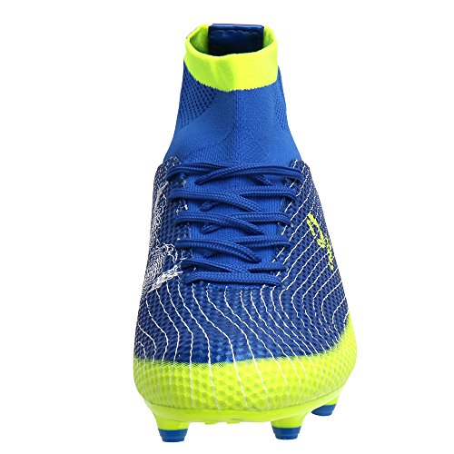 Aleader  Performance, Chaussures de football pour homme Bleu Marine