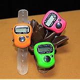 Electomania 3pcs Hand Finger Tally Counter Digital Electronic Counter - Color Multicolor