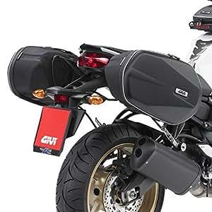Givi 3D600 Sacoches Cavalières Kawasaki ZZR 1400 12-17 + Support Easylock