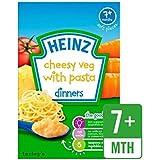 Heinz Fromage Pâtes De Légumes 7 Mths + 100G - Paquet de 2