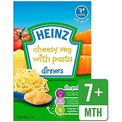 Heinz Pasta Di Verdure Formaggio 7 Mths + 100G - Confezione da 2