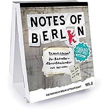 Notes of Berlin 2018