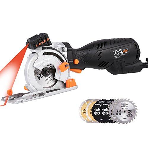 Tacklife CSK77AC, sega circolare laser da 705 W e 4500 rpm